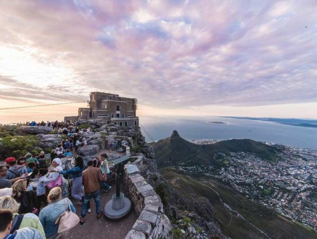 Visit Cape Town : Big 6 # 2 Table Mountain