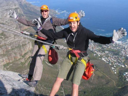 Adventure tourism in Cape Town – Abseiling